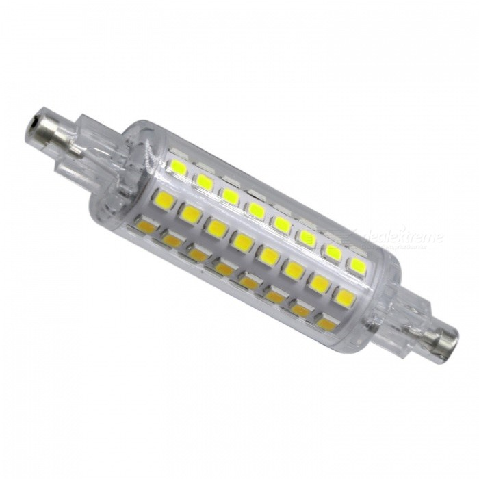 YWXLight 3W 78mm 2835 SMD 6000-6500K White Led R7S Light BulbColor BINR7S Cool White AC 220-240VMaterialPCForm  ColorWhite + Orange + Multi-ColoredQuantity1 piecePower3WRated VoltageAC 220-240 VConnector TypeOthers,R7SEmitter TypeOthers,2835 SMD LEDTotal Emitters64Theoretical Lumens300-400 lumensActual Lumens200-300 lumensColor Temperature6500KDimmableNoBeam Angle360 °Packing List1 x YWXLight LED Bulb<br>