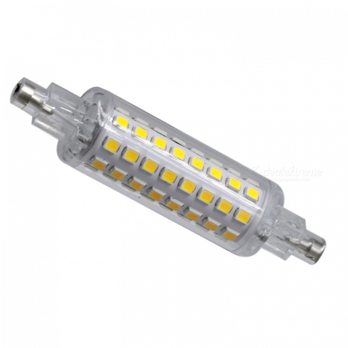 YWXLight 3W 78mm 2835 SMD 4000-4500K Natural White LED R7S Light BulbColor BINR7S  Naturally White  AC 110-130VMaterialPCForm  ColorWhite + Orange + Multi-ColoredQuantity1 DX.PCM.Model.AttributeModel.UnitPower3WRated VoltageAC 110-130 DX.PCM.Model.AttributeModel.UnitConnector TypeOthers,R7SEmitter TypeOthers,2835 SMD LEDTotal Emitters64Theoretical Lumens300-400 DX.PCM.Model.AttributeModel.UnitActual Lumens200-300 DX.PCM.Model.AttributeModel.UnitColor Temperature4200KDimmableNoBeam Angle360 DX.PCM.Model.AttributeModel.UnitPacking List1 x YWXLight LED bulb<br>