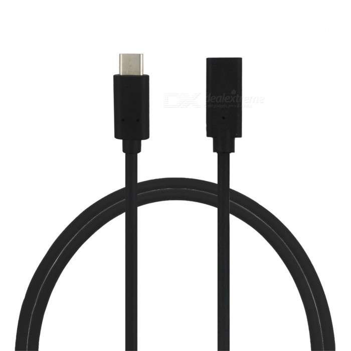 mini smile USB 3.1 Type-C Male to Female Cable for GoPro Hero 5 (1m)Cables &amp; Adapters<br>Form  ColorBlackModelYC-01GMaterialPVC + environmental OFCQuantity1 pieceShade Of ColorBlackCompatible ModelsOthers,GoPro Hero 5Cable Length100 cmConnectorType-COther FeaturesSupport USB3.1 high speed transmission, fast charging, HDMI HD video transmissionPacking List1 x Cable<br>
