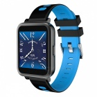 D10 Bluetooth Smart Watch Heart Rate Monitoring Pedometer - Blue