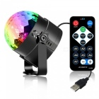 YouOKLight USB LED RGB rotující DJ Disco Party koule
