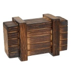 Magic Wooden Box with Secret Drawer - Wood