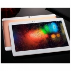 10 Inch Android  4.4 3G Phone Call Tablet w/ RAM 1GB, ROM 16GB - Golden