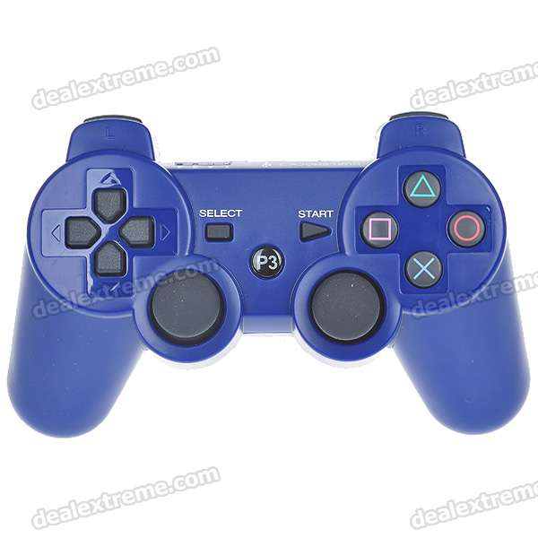 DualShock 3 Bluetooth Wireless SIXAXIS Controller for PS3 - Blue