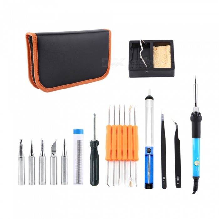 14-in-1 60W 110V Electric Welding Soldering Iron Tool Kit (US Plug)