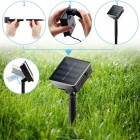 YWXLight 5V 12M 100-LED Waterproof Warm White Solar String Light