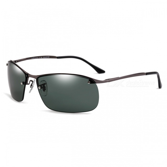 Outdoor Polarized High Definition Nylon Mens Sunglasses for DriverSunglasses<br>Frame ColorGreyLens ColorDeep GreenModel3183Quantity1 DX.PCM.Model.AttributeModel.UnitShade Of ColorGrayFrame MaterialMonel alloyLens MaterialNylon polarizationProtectionUV400GenderMenSuitable forAdultsFrame Height4 DX.PCM.Model.AttributeModel.UnitLens Width6.3 DX.PCM.Model.AttributeModel.UnitBridge Width1.5 DX.PCM.Model.AttributeModel.UnitOverall Width of Frame14.6 DX.PCM.Model.AttributeModel.UnitPacking List1 x Sunglasses1 x Glasses cloth1 x Glasses case<br>