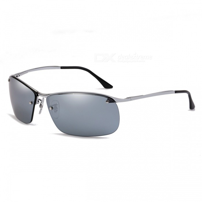 Outdoor Polarized High Definition Nylon Mens Sunglasses for DriverSunglasses<br>Frame ColorSilverLens ColorChrome SilverModel3183Quantity1 DX.PCM.Model.AttributeModel.UnitShade Of ColorSilverFrame MaterialMonel alloyLens MaterialNylon polarizationProtectionUV400GenderMenSuitable forAdultsFrame Height4 DX.PCM.Model.AttributeModel.UnitLens Width6.3 DX.PCM.Model.AttributeModel.UnitBridge Width1.5 DX.PCM.Model.AttributeModel.UnitOverall Width of Frame14.6 DX.PCM.Model.AttributeModel.UnitPacking List1 x Sunglasses1 x Glasses cloth1 x Glasses case<br>