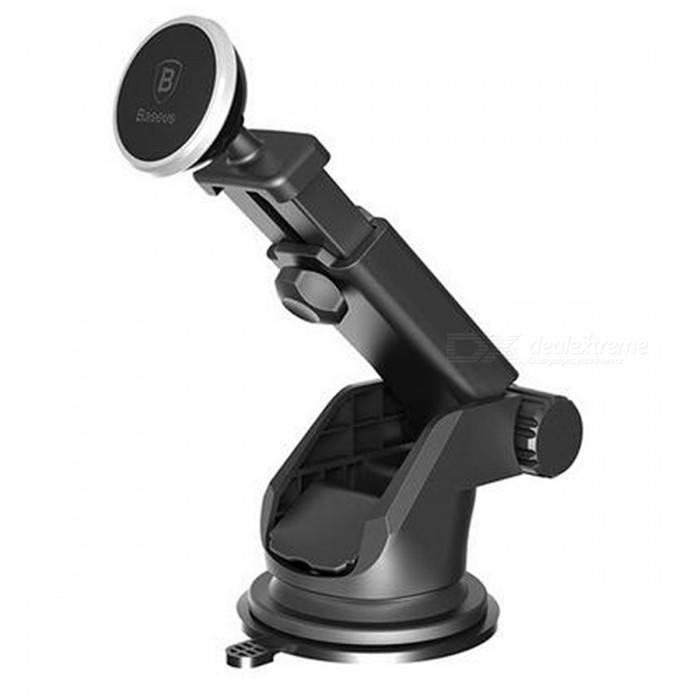 Baseus Telescopic Style Car Magnetic Mount for Cell Phones - Silver