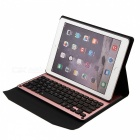Backlight Keyboard w/ PU Case for 2017 New IPAD, Air, Air2 - Rose Gold