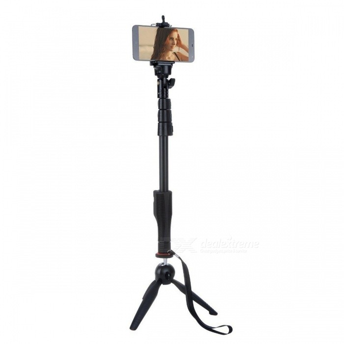 Bluetooth Extendable Selfie Stick YT1288 with VCT-228 Mini Tripod