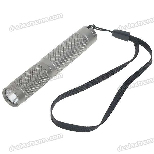 AAA7 XP-E R2 120-Lumen LED Flashlight with Strap (1*AAA/1*10440)