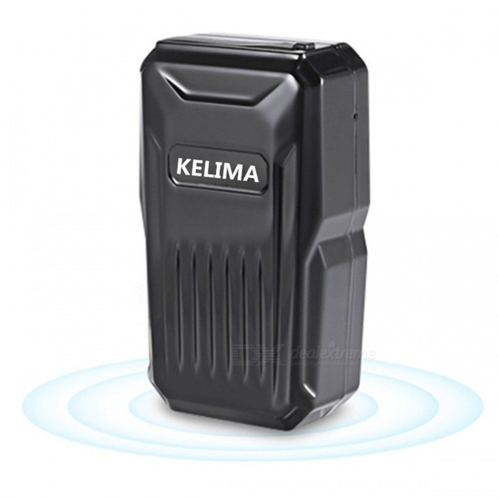 kelima mini portable gps locator tracker black free shipping dealextreme. Black Bedroom Furniture Sets. Home Design Ideas