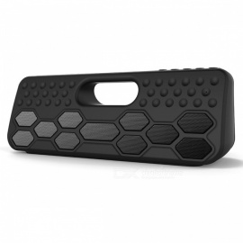 ZF-502 TWS Portable IPX5 Waterproof Bluetooth Wireless Speaker - Black