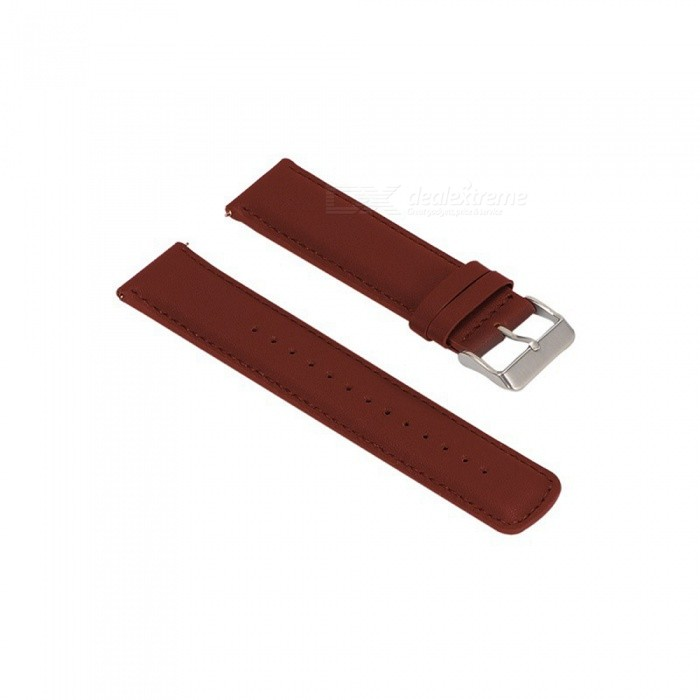 22MM Leather Watch Strap For Samsung Gear S3 - BrownWearable Device Accessories<br>Form  ColorBrownModelN/AQuantity1 DX.PCM.Model.AttributeModel.UnitMaterialCowhidePacking List1 x Watch Strap (12.7cm)1 x Watch Strap (9.3cm)<br>