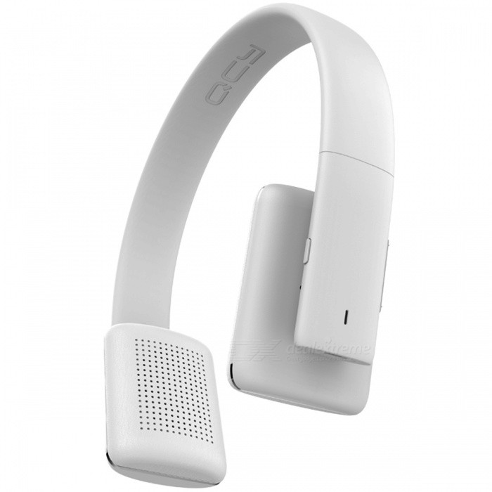 QCY QCY50 HIFI Sound Wireless Bluetooth 4.1 Headphones - WhiteHeadphones<br>Form  ColorWhiteBrandQCYModelQCY50MaterialPlastic + MetalQuantity1 setConnectionBluetoothBluetooth VersionBluetooth V4.1Operating Range10MConnects Two Phones SimultaneouslyYesHeadphone StyleBilateral,HeadbandWaterproof LevelOthers,SweatproofApplicable ProductsUniversalHeadphone FeaturesPhone Control,Long Time Standby,Noise-Canceling,Volume Control,With Microphone,Lightweight,Portable,For Sports &amp; ExerciseSupport Memory CardNoSupport Apt-XNoSensitivity108±3dBFrequency Response20-20000HzImpedance32 ohmBuilt-in Battery Capacity 200 mAhStandby Time390 hoursTalk Time13 hoursMusic Play Time10-12 hoursPacking List1 x QCY QCY501 x USB charging cable1 x User manual<br>