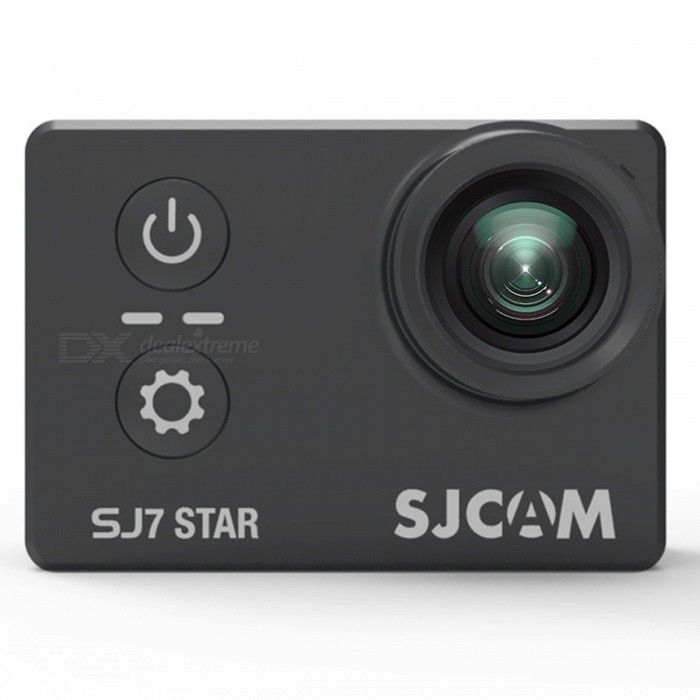 Original SJCAM SJ7 Star WiFi 4K 30FPS Sport Action Camera - Svart