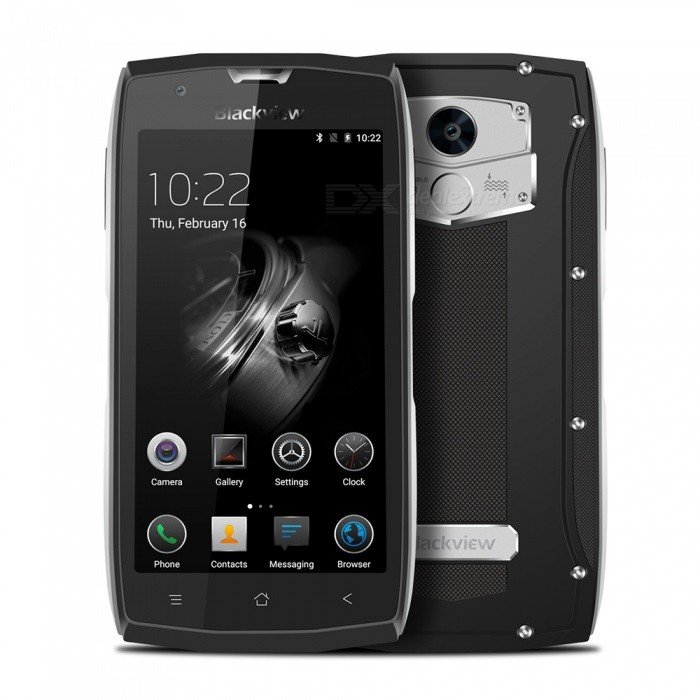 BLACKVIEW BV7000pro Android6.0 Smartphone w/ 4GB RAM 64GB ROM - Silver