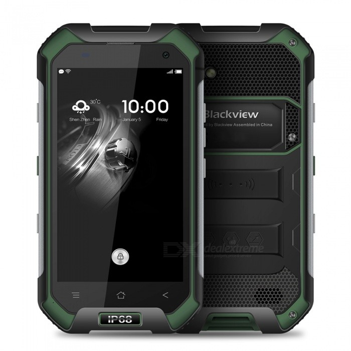 BLACKVIEW BV6000S Android 6.0 Smartphone w/ 2GB RAM 16GB ROM - Green