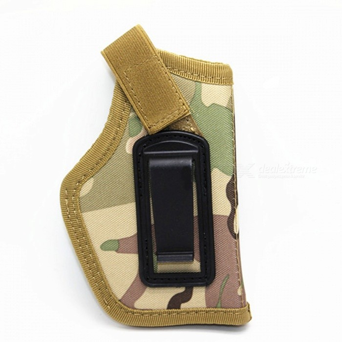 IWB Hidden Form Nylon Tactical Holster - CP CamouflageGun Holsters<br>Form  ColorMultiCamMaterialNylonQuantity1 DX.PCM.Model.AttributeModel.UnitGun TypePistolPacking List1 x Holster<br>
