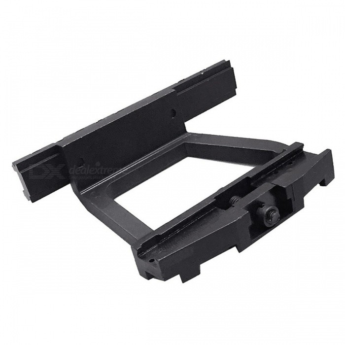 ACCU Aluminum Alloy Fast Diaassembling Release Rail for AK - BlackGun Mounts/Rails<br>Form  ColorBlackMaterialAluminum AlloyQuantity1 DX.PCM.Model.AttributeModel.UnitGun Typefit AK-47, Saiga, Saiga-12 firearms with side railsRail Size20mmMount TypeOthers,N/ARing DiameterNUMPacking List1 x Release rail<br>