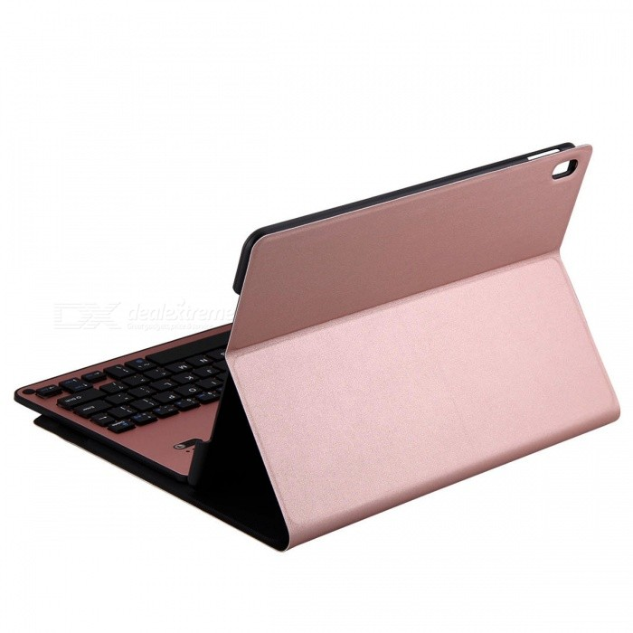 detachable keyboard case with stand for ipad pro 10 5 rose gold free shipping dealextreme. Black Bedroom Furniture Sets. Home Design Ideas