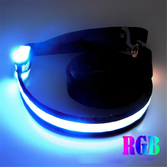 YWXLight LED 1.2m Luminous Pet Traction Rope - RGB Light (DC 5V)LED Nightlights<br>Form  ColorRGBMaterialNylonQuantity1 DX.PCM.Model.AttributeModel.UnitPower3WRated VoltageOthers,DC 5 DX.PCM.Model.AttributeModel.UnitConnector TypeOthersColor BINRGBEmitter TypeLEDTotal Emitters1Theoretical Lumens300-400 DX.PCM.Model.AttributeModel.UnitActual Lumens200-300 DX.PCM.Model.AttributeModel.UnitColor Temperature12000K,OthersDimmableNoInstallation TypeOthersPacking List1 x YWXLight Traction belt<br>