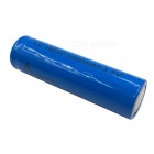 ZHAOYAO 2Pcs LC 3.7V 18650 3000mAh Rechargeable Lithium Battery - Blue