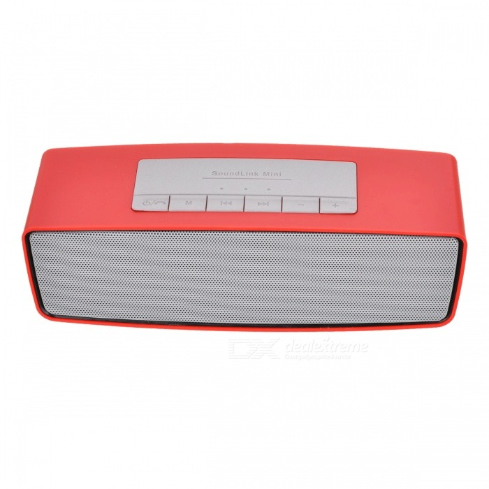S815 Portable Wireless Bluetooth Speaker for Home Use - Golden