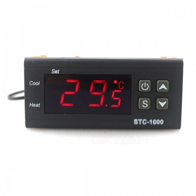 STC-1000 220V Two Relay Output LCD Digital Temperature Controller