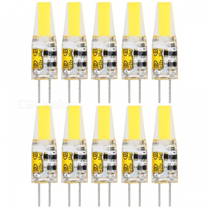 g4 6w 1505 cob froid blanc led ampoules 10 pcs ac dc12v envoie gratuit dealextreme. Black Bedroom Furniture Sets. Home Design Ideas