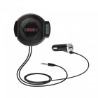 3-in-1 Car Bluetooth FM Transmitter Handsfree Calling Holder Charger