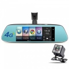 Junsun 4G Android 5.1 Special Mirror Car DVR Camera with GPS