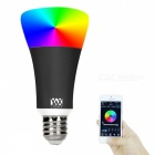YWXLight E27 RGB Smart Bluetooth Music LED Bulb Light - Black