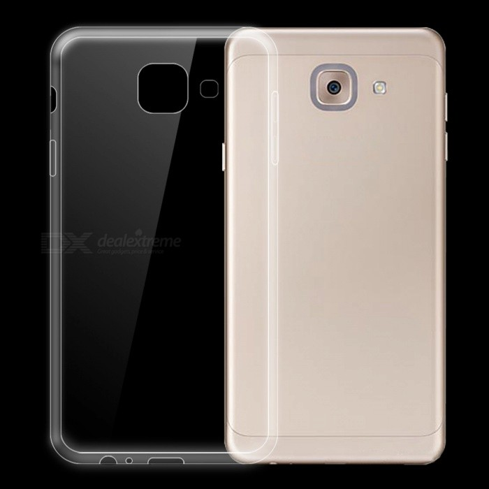 Dayspirit Ultra-Thin TPU Back Cover Case for Samsung Galaxy J7 MaxTPU Cases<br>Form  ColorTransparentModelN/AMaterialTPUQuantity1 pieceShade Of ColorTransparentCompatible ModelsSamsung Galaxy J7 MaxPacking List1 x Case<br>
