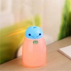 YWXLight Cartoon Night Lamp, USB Humidifier for Home Office - Blue