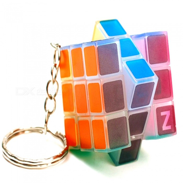 High Quality Mini Portable Rubiks Cube Magic Cube w/ Light / KeychainMagic IQ Cubes<br>Form  ColorLight Yellow + Red + Multi-ColoredMaterialABSQuantity1 DX.PCM.Model.AttributeModel.UnitType3x3x3Suitable Age 5-7 years,8-11 years,12-15 years,Grown upsPacking List1 x Magic Cube<br>