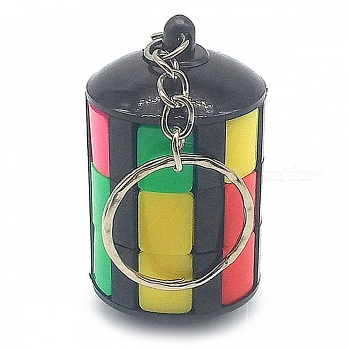 Innovative Round Tower Shape Colorful Sliding Rubiks Magic CubeMagic IQ Cubes<br>Form  ColorWhite + Black + Multi-ColoredMaterialABSQuantity1 DX.PCM.Model.AttributeModel.UnitType3x3x3Suitable Age 5-7 years,8-11 years,12-15 years,Grown upsPacking List1 x Cube<br>