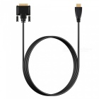 Cwxuan 1.8m HDMI to DVI 24+1 Pin Bidirectional Conversion Cable