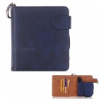 Protective pu leather e-cigarette bag case cards holder - blue