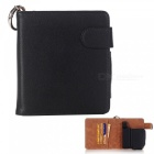 Protective pu leather e-cigarette bag case cards holder - black