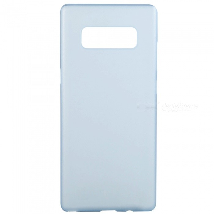 Benks Ultra-thin 0.4mm Frosted Lollipop PP Case for Samsung Note 8Plastic Cases<br>Form  ColorBlue + Translucent WhiteModelLollipopMaterialPPQuantity1 DX.PCM.Model.AttributeModel.UnitShade Of ColorBlueFeaturesAnti-slip,Abrasion resistance,Easy-to-removeCompatible ModelsSamsung Note 8CertificationRoHSPacking List1 x Protective Case<br>
