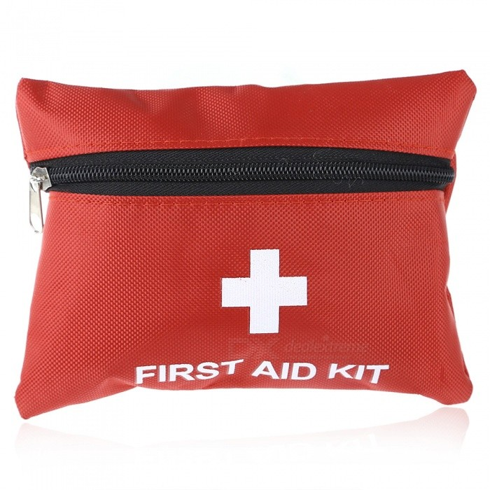Multi-Function Outdoor First Aid 13-Piece Kits - Red (2 PCS / Group)First Aid<br>Form  ColorRedQuantity1 setMaterialNylonBest UseClimbing,Rock Climbing,Family &amp; car camping,Mountaineering,OthersPacking List 2 x 13-in-1 First Aid Kits<br>