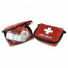 Multi-Function Outdoor First Aid 10-Piece Kit - Red (2 PCS / Group)