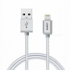 AUKEY CB-D16 MFI 8-Pin Lighting to USB Cable for iPhone / iPad - Grey