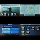 "5.0"" LCD Windows CE 5.0 Media MT3351 GPS Navigator with TV/Bluetooth and Brazil Maps (4GB)"