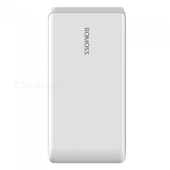 ROMOSS Arrow 20 20000mAh 2,1A Quick Charge Power Bank - Vit