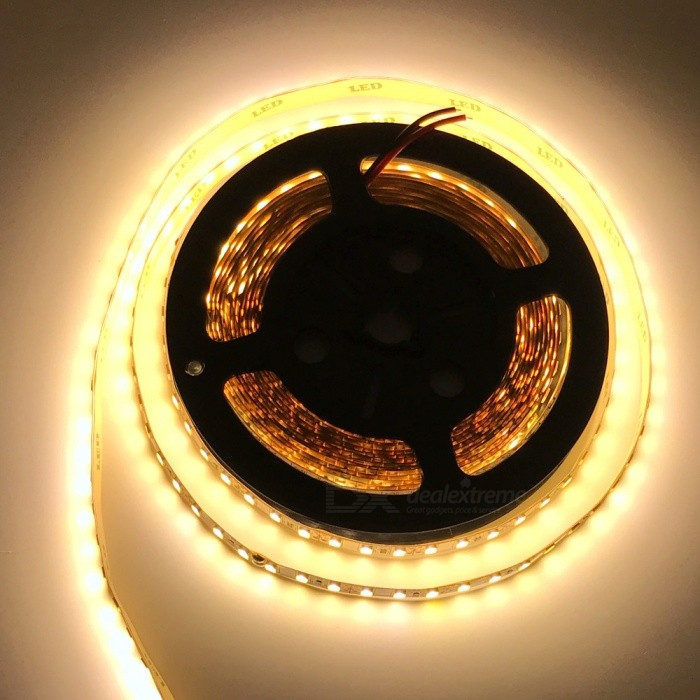 ZHAOYAO Non-Waterproof  60W 450-5630SMD Warm White LED Light Strip5630 SMD Strips<br>Color BINWarm WhiteModel5630-450L-WWMaterialCircuit boardForm  ColorWhiteQuantity1 piecePowerOthers,60WRated VoltageDC 12 VEmitter Type5630 SMD LEDTotal Emitters450Color Temperature2800-3500KWavelength0Theoretical Lumens6000 lumensActual Lumens20-5000 lumensPower AdapterOthers,WiringPacking List1 x LED strip<br>