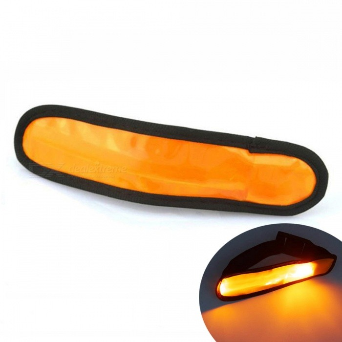 YWXLight LED Night Movement Arm Wrist Strap Warning Light - OrangeLED Nightlights<br>Form  ColorOrangeMaterialNylonQuantity1 DX.PCM.Model.AttributeModel.UnitPower2WRated VoltageOthers,5 DX.PCM.Model.AttributeModel.UnitConnector TypeOthersColor BINOrangeEmitter TypeLEDTotal Emitters1Theoretical Lumens200-300 DX.PCM.Model.AttributeModel.UnitActual Lumens100-200 DX.PCM.Model.AttributeModel.UnitColor Temperature12000K,OthersDimmableYesBeam Angle180 DX.PCM.Model.AttributeModel.UnitInstallation TypeOthers,NoPacking List1 x YWXLight Luminous Arm Wrist Strap<br>