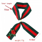 Fashion Vintage National Style Cloth Rose Broderi Scarf Collar